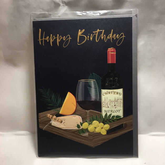 Wine & Cheese Spread Birthday - Notes & Queries
