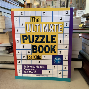 The Ultimate Puzzle Book for Kids by Jennifer Smith Jochen