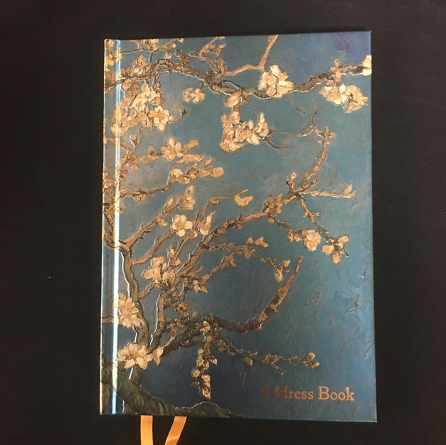 Blue Branches Flame Tree Address Book