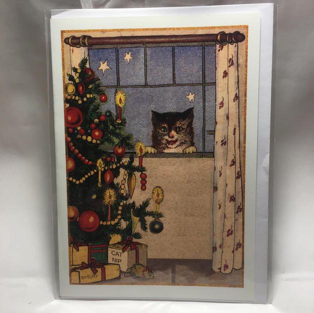 Cat Window Peeper - Ganapati Studios
