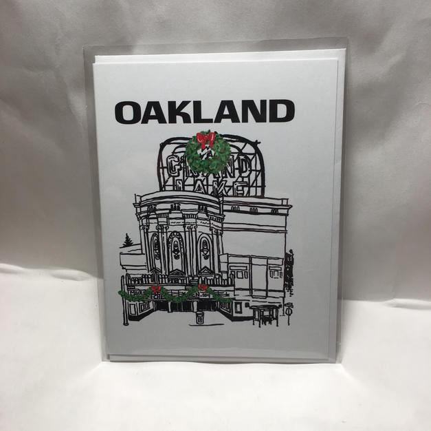 Grand Lake Theater Oakland Christmas - Landmark Ink
