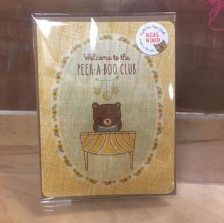 Peek-A-Book Bear Baby - Night Owl Paper Goods