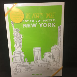 World's Longest Dot-to-Dot Puzzle: New York