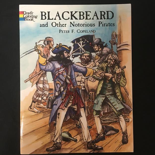 Blackbeard Coloring Book