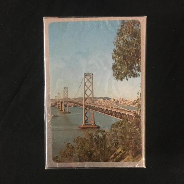 Golden Gate Bridge Playing Cards
