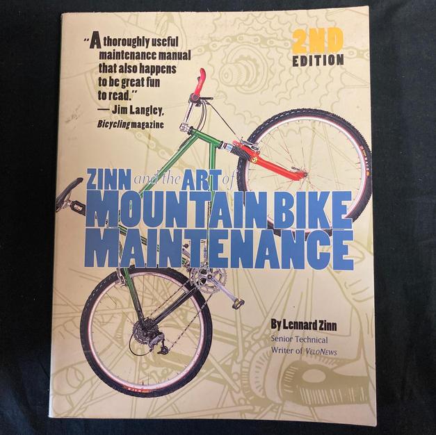 Zinc and the Art of Mountain Bike Maintenancd