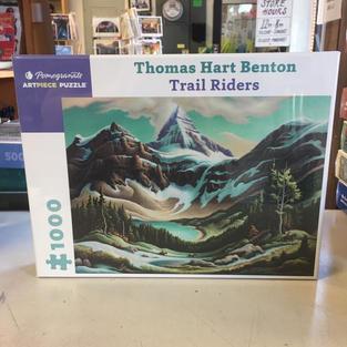 Trail Riders, Thomas Hart Benton