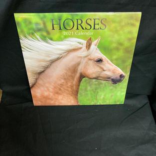 2021 Wall Calendar - Horses
