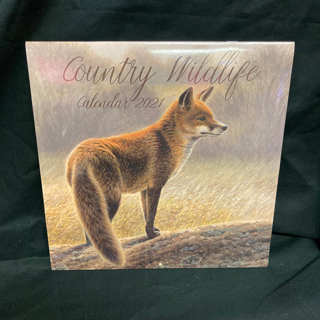 2021 Wall Calendar - Country Wildlife