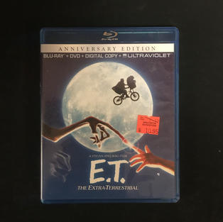 Blu-Ray / DVD Combo - E.T. the Extra-Terrestrial