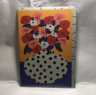 Polka Dot Vase - Wrap