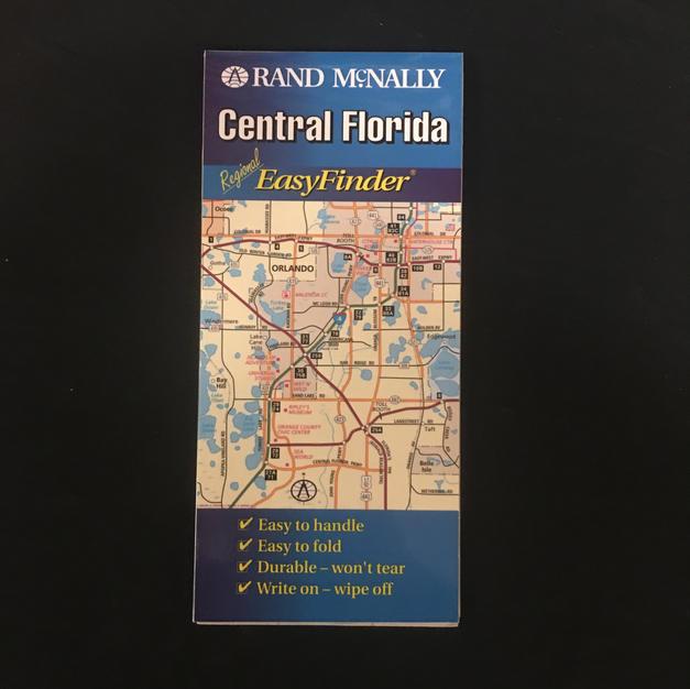 Map - Central Florida EasyFinder