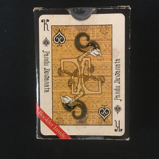Java's Classical Wayang Playing Cards