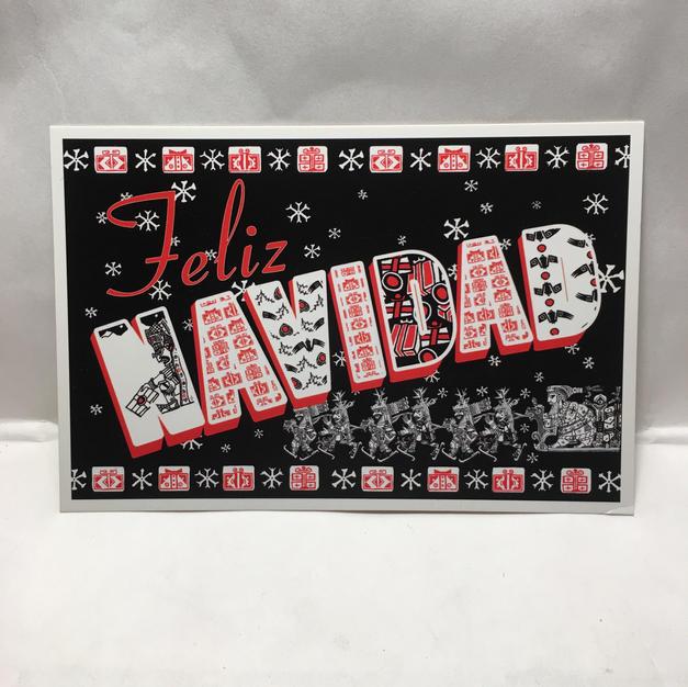 Feliz Navidad - Christmas Postcard