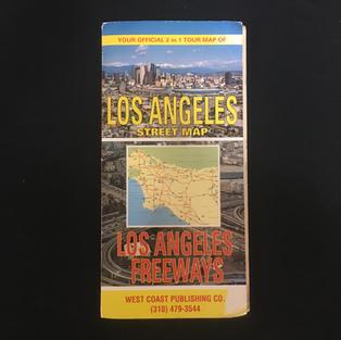 Map - Los Angeles Freeways Street Map
