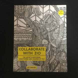 Collaborate with Zio Coloring Book
