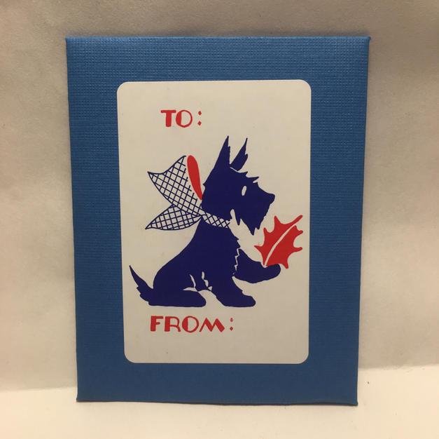 Scotty Dog Gift Tags - Saturn Press