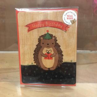 Hedgehog Gift Birthday - Night Owl Paper Goods