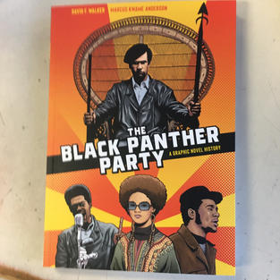 The Black Panther Party: A Graphic Novel History by David F Walker and Marcus Kwame Anderson