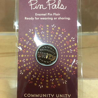 Pin Pals - Brown Community Unity Pin - Night Owl Paper Goods