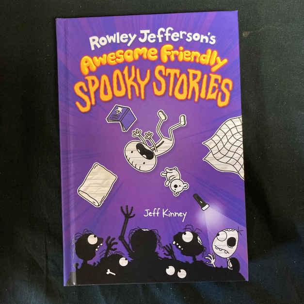 Rocket Jefferson's Awesome Friendly Spooky Stories by Jeff Kinney