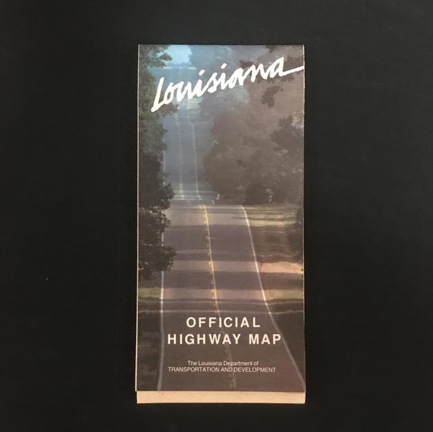 Map - Louisiana Highway