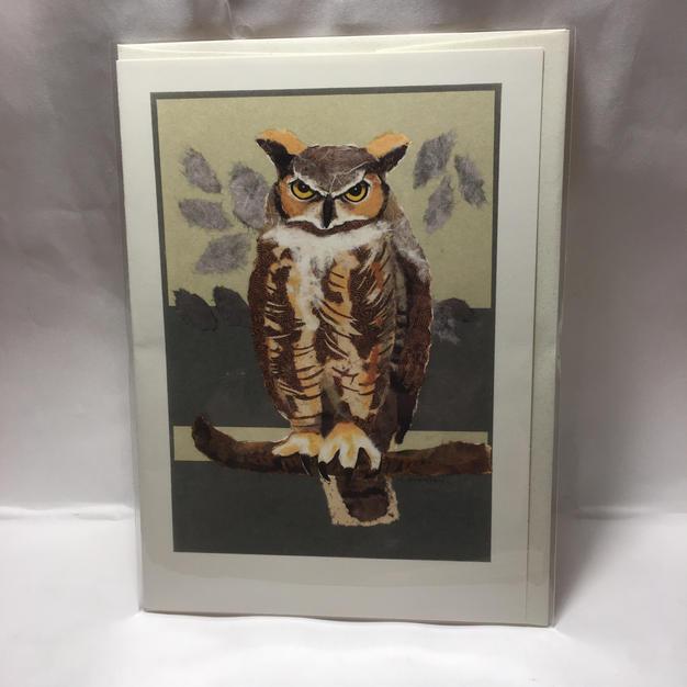 Great Horned Owl - Nancy Overton