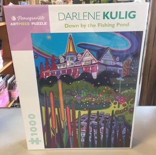 Down by the Fishing Pond, Darlene Kulig
