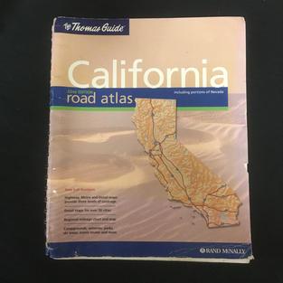 California Road Atlas Thomas Guide
