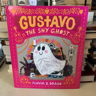 Gustavo the Shy Ghost by Flavia Z Drago
