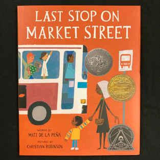 Last Stop on Market Street by David De La Pena