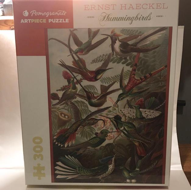 Hummingbirds - Ernst Haeckel