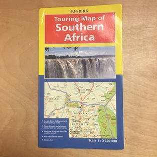 Map - Southern Africa Touring