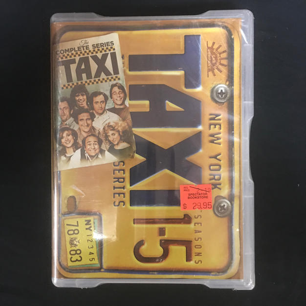 DVD - Taxi Seasons 1-5 Complete