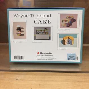 Cake - Wayne Thiebaud (back)