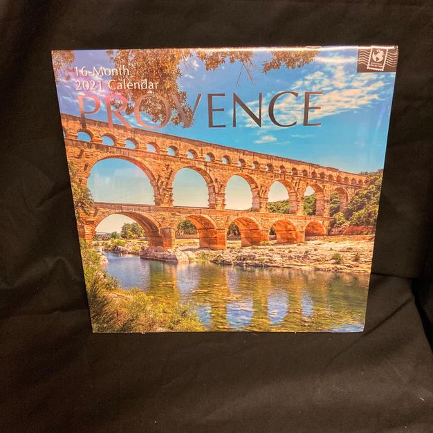 2021 16-Month Wall Calendar - Provence