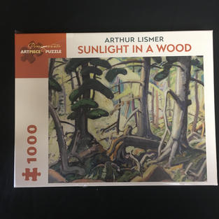 Sunlight in a Wood - Arthur Lismer