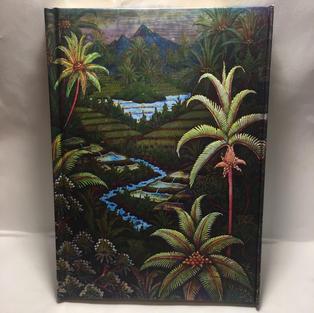 Jungle Palms - Lined Flame Tree Journal