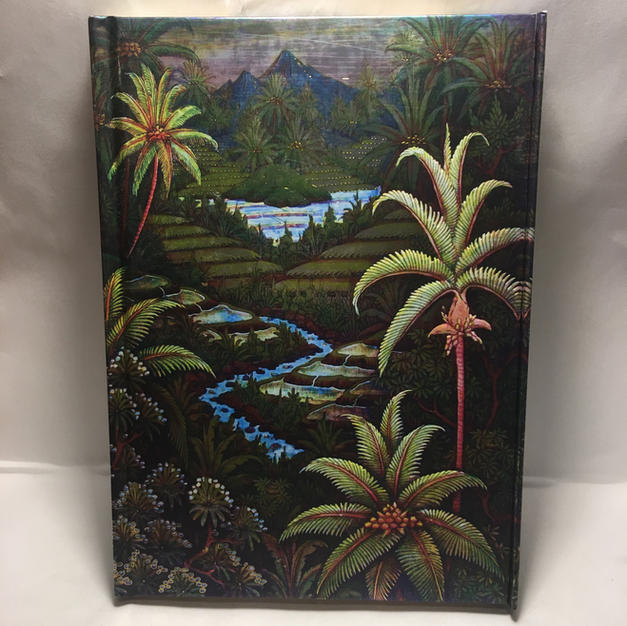 Jungle Palms - Lined Flame Tree Journal