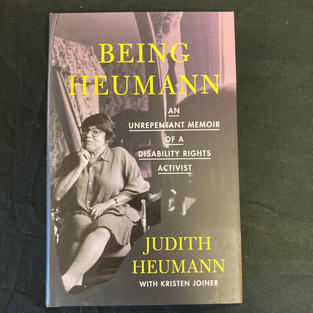 Being Heumann by Judith Heumann