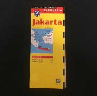 Map - Jakarta Yellow
