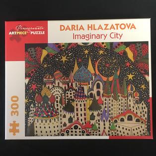 Imaginary City - Daria Hlazatova