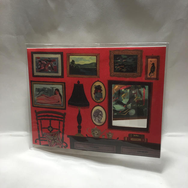 Picture Frame Birthday / Valentine's Day / Congrats / Other - Red Cap Cards (front)