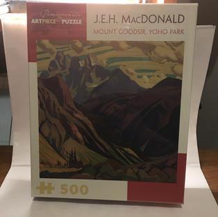 Mount Goodsir, Yoho Park - J.E.H. MacDonald