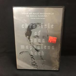 DVD - Chronicle of Anna Magdalena Bach