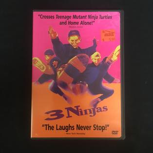 DVD - Three (3) Ninjas