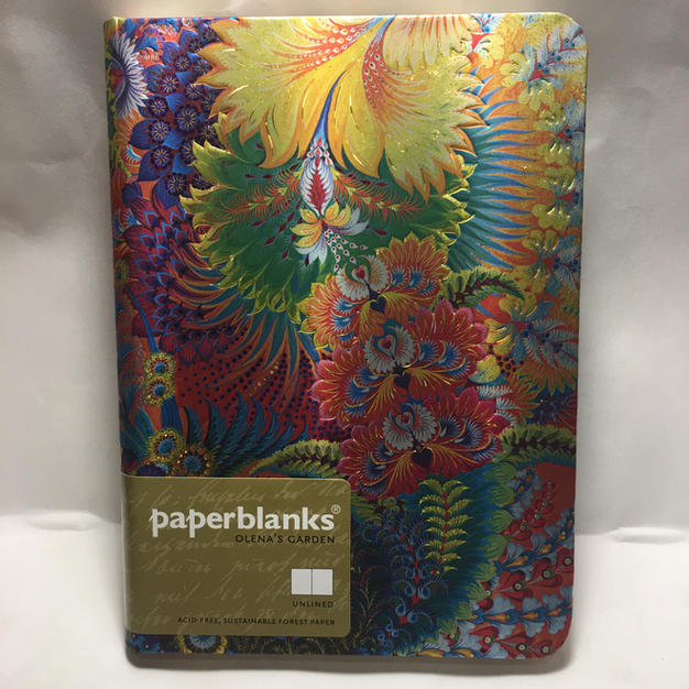 Olena's Garden - Unlined Medium Paperblanks Journal