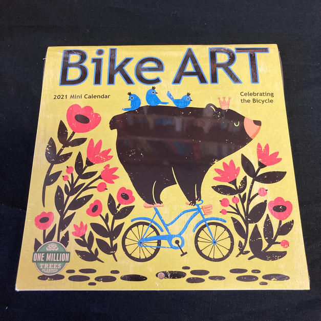 2021 Mini Calendar - Bike Art