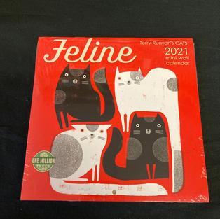 2021 Mini Calendar - Feline