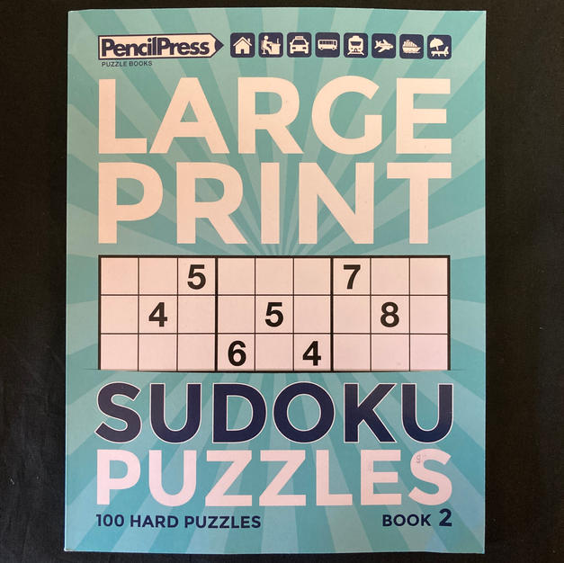 Large Print Sudoku Puzzles Book 2